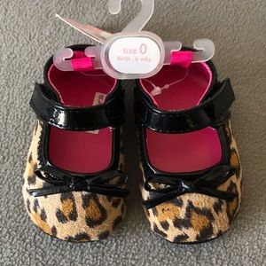 Baby Girls' Leopard Print Shoes NWT